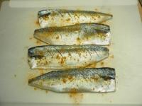 鯖のガーリックカレーソテー03