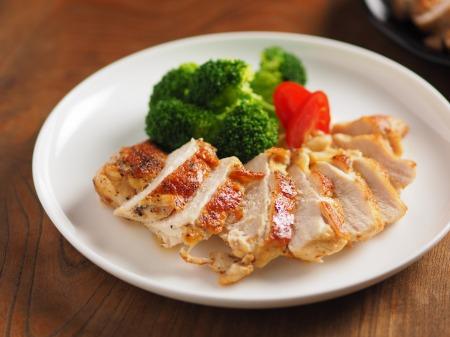 鶏むね肉のチーズ焼き19