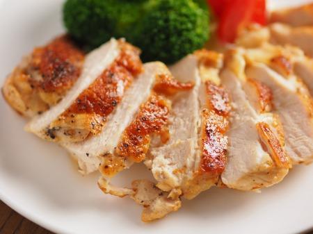 鶏むね肉のチーズ焼き17