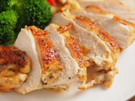 鶏むね肉のチーズ焼き49