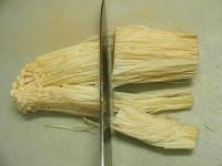 ゴーヤーとイカゲソのキムチ炒06