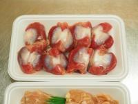 砂肝とせせりの旨辛炒め03