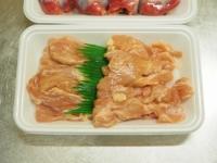 砂肝とせせりの旨辛炒め02