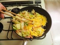 野菜たっぷりそーめんチャンプル17