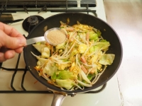 野菜たっぷりそーめんチャンプル18