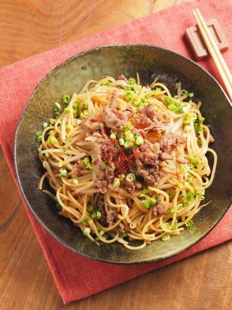 焼き肉スパゲティ17