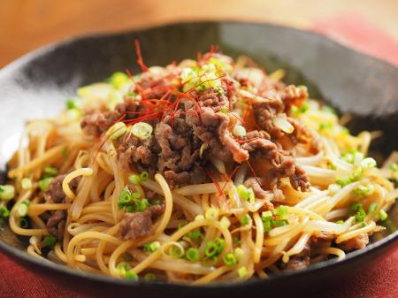 焼き肉スパゲティ21