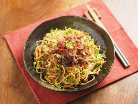 焼き肉スパゲティ25
