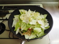 キャベツと鶏むね肉のピリ辛生12