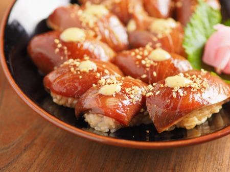 ぶりのごま握り寿司17