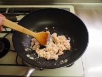 キャベツとひき肉のカレーマヨ炒09