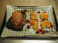 豚肉のにんにく味噌焼き28