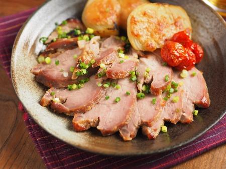 豚肉のにんにく味噌焼き58