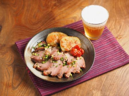 豚肉のにんにく味噌焼き62