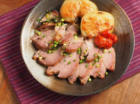 豚肉のにんにく味噌焼き47