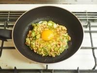 オクラ納豆の巣篭もり卵丼07