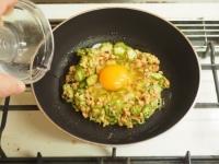オクラ納豆の巣篭もり卵丼08