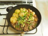 牛肉とマッシュルームのすき焼19