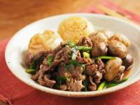 牛肉とマッシュルームのすき焼36