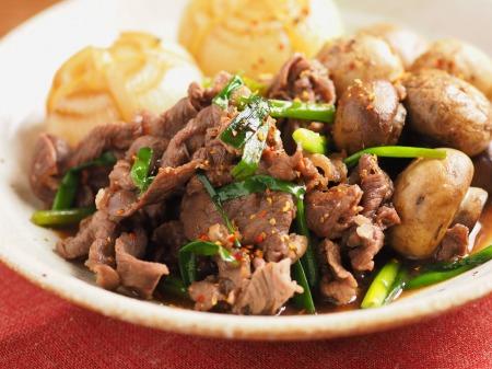 牛肉とマッシュルームのすき焼32