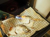 コシナガマグロのかぶと焼き08