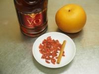 クコの実と梨のフルーツブランデ09