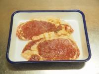 豚肉のタバスコ味噌焼き11