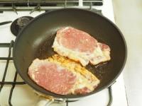 豚肉のタバスコ味噌焼き15