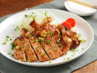 豚肉のタバスコ味噌焼き24