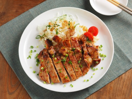 豚肉のタバスコ味噌焼き46