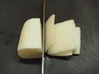大根とサラミのシャキシャキサラ02