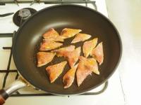 余った刺身の焼肉炒め06