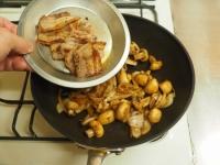 豚ばら肉とマッシュルームの塩19