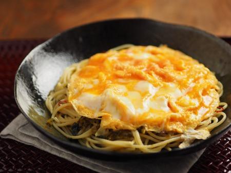 とろとろ卵かけ高菜スパゲティ19