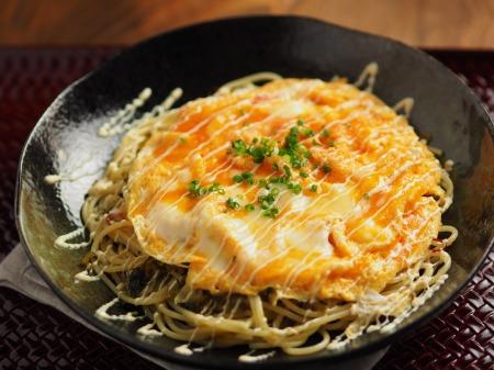 とろとろ卵かけ高菜スパゲティ30