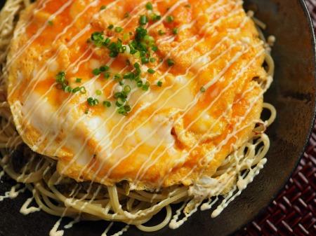 とろとろ卵かけ高菜スパゲティ28
