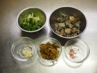 あさりと高菜の和風スパゲティ04