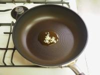 あさりと高菜の和風スパゲティ08