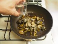 あさりと高菜の和風スパゲティ15