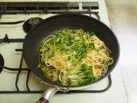 あさりと高菜の和風スパゲティ19