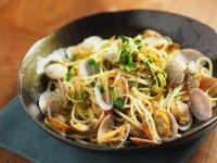あさりと高菜の和風スパゲティ22