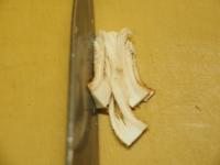 砂肝とキノコの高菜炒め07