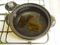 柔らか豚肉のにんにく味噌鍋06