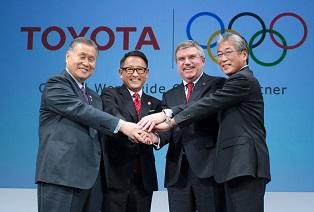 トヨタとIOCの「トップ・パートナー」契約