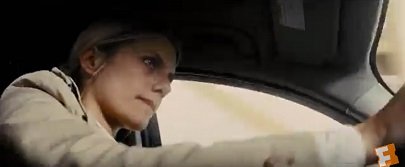 Mélanie Laurentのカーチェイス