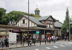 現JR原宿駅