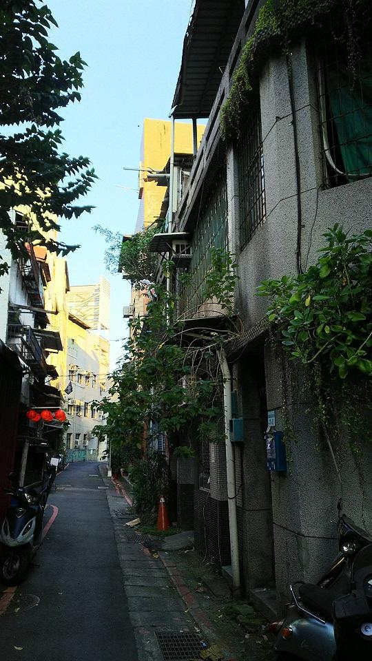 台湾裏路地
