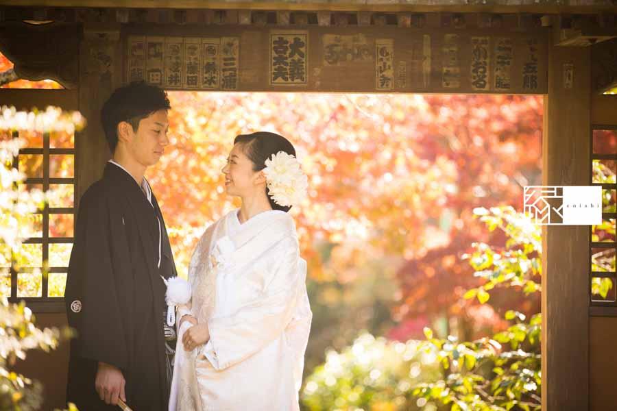 和装紅葉前撮り鎌倉1414