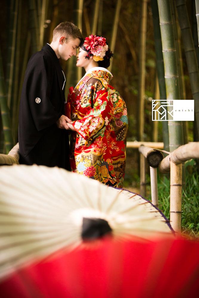 フォト婚和装鎌倉縁家族着付け33