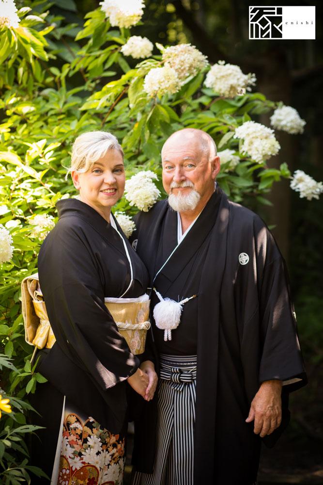 フォト婚和装鎌倉縁家族着付け31